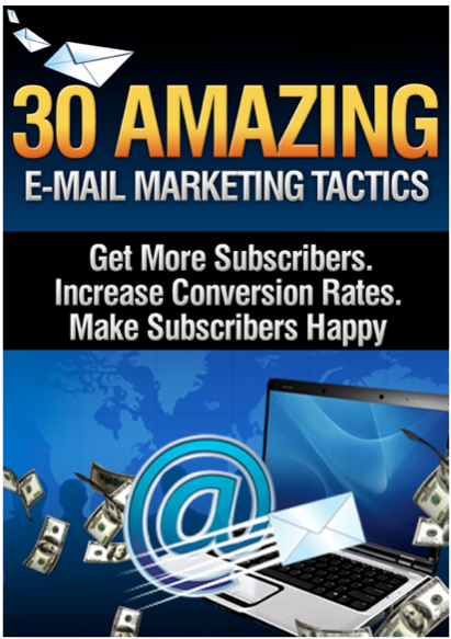 30 Amazing Email Marketing Tactics